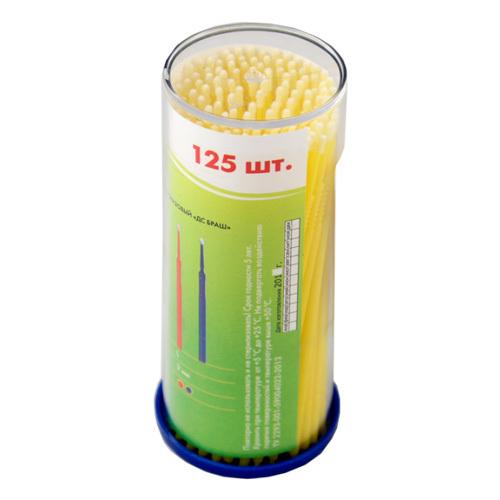 Инструменты и аксессуары для наращивания ресниц Микробраши (аппликаторы стоматологические), 100 шт, M-1.5мм Микробраши-M.jpg