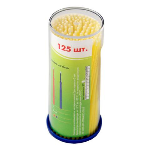 Микробраши (аппликаторы стоматологические), 125 шт, M-1.5мм