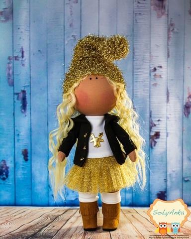 Кукла Злата из коллекции - Honey Doll. Рождественская серия