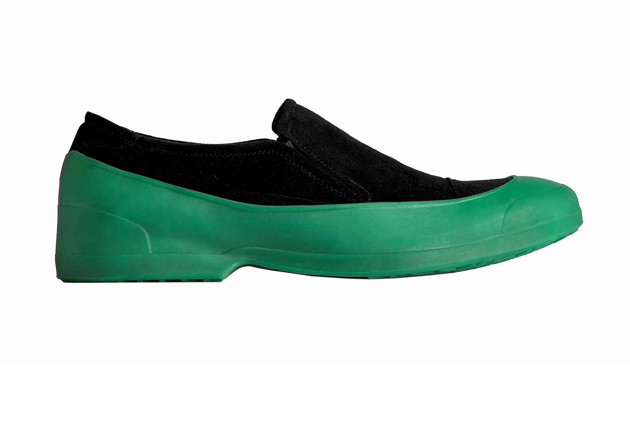 Галоши Мужские галоши открытого типа цвет зеленый DSC_0004.jpg