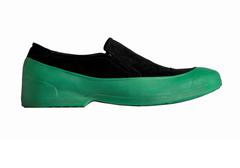 Мужские галоши открытого типа цвет зеленый