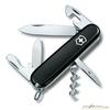 Нож перочинный Victorinox Spartan 91мм 12 функций черный (1.3603.3) нож перочинный victorinox spartan silvertech 1 3603 t 91мм 12 функций полупрозрачный серебристый