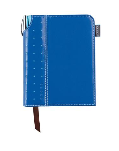 Записная книжка Cross Journal Signature A6, 250 страниц в линейку, ручка 3/4 в комплекте, цвет -  си