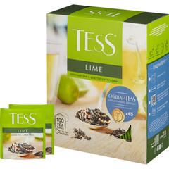 Чай TESS Лайм зеленый с добавками 100 пак/уп