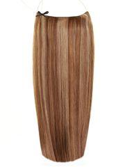 Волосы на леске Flip in- цвет #4-27- длина 40 см