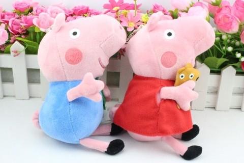 Peppa Pig — Peppa Pig and George Pig Plush