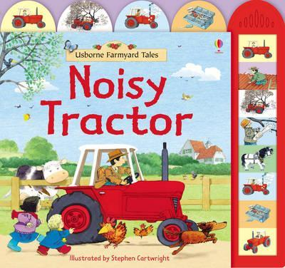 Kitab Farmyard Tales Noisy Tractor | Heather Amery