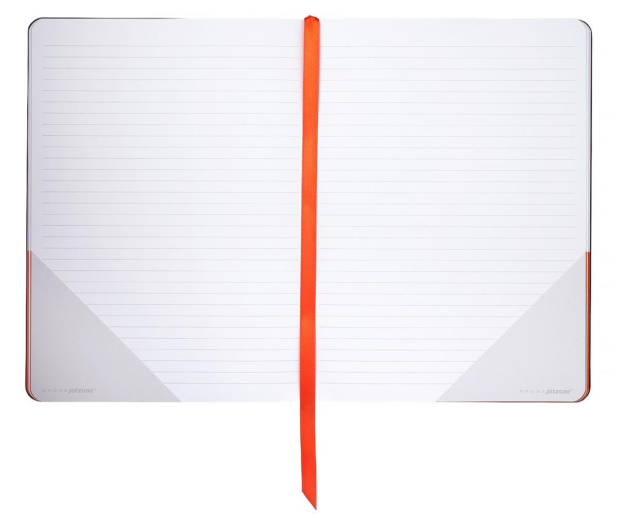 Записная книжка Cross Jot Zone, большая, 160 страниц в линейку, ручка в комплекте
