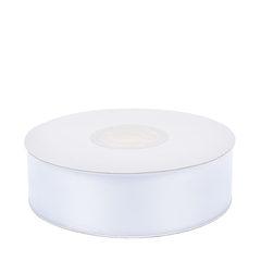 Лента атласная (белый) 25мм*25м