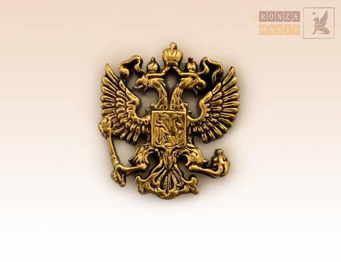 накладка Герб России 2х2 см