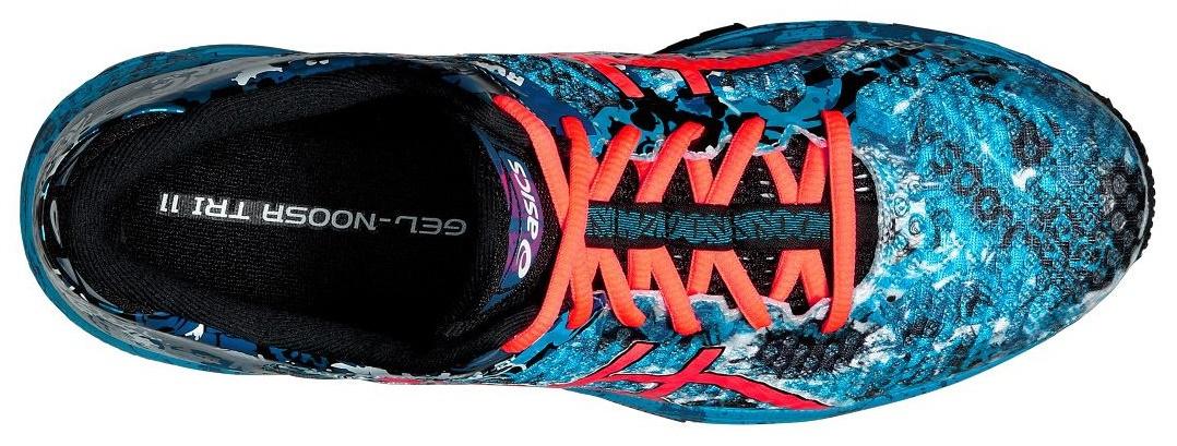Мужские кроссовки для бега Asics Gel-Noosa Tri 11 (T626N 4006) голубые фото сверху