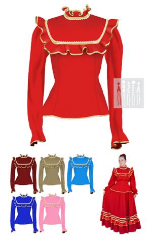 Фото Казачья лезгинка жакет женский рисунок Казачьи женские народные костюмы от Мастерской Ангел. Огромный выбор в интернет магазине!