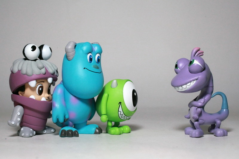 Monsters Inc. Cosbaby Set of 4