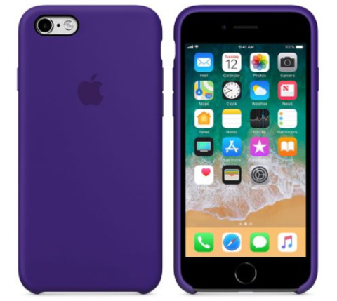 iPhone 6/6s Silicone Case  Фиолетовый