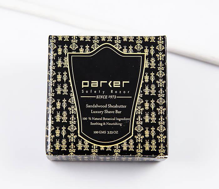 RAZ470 Сандаловое мыло для бритья PARKER с маслами (сменный блок, 100 гр)