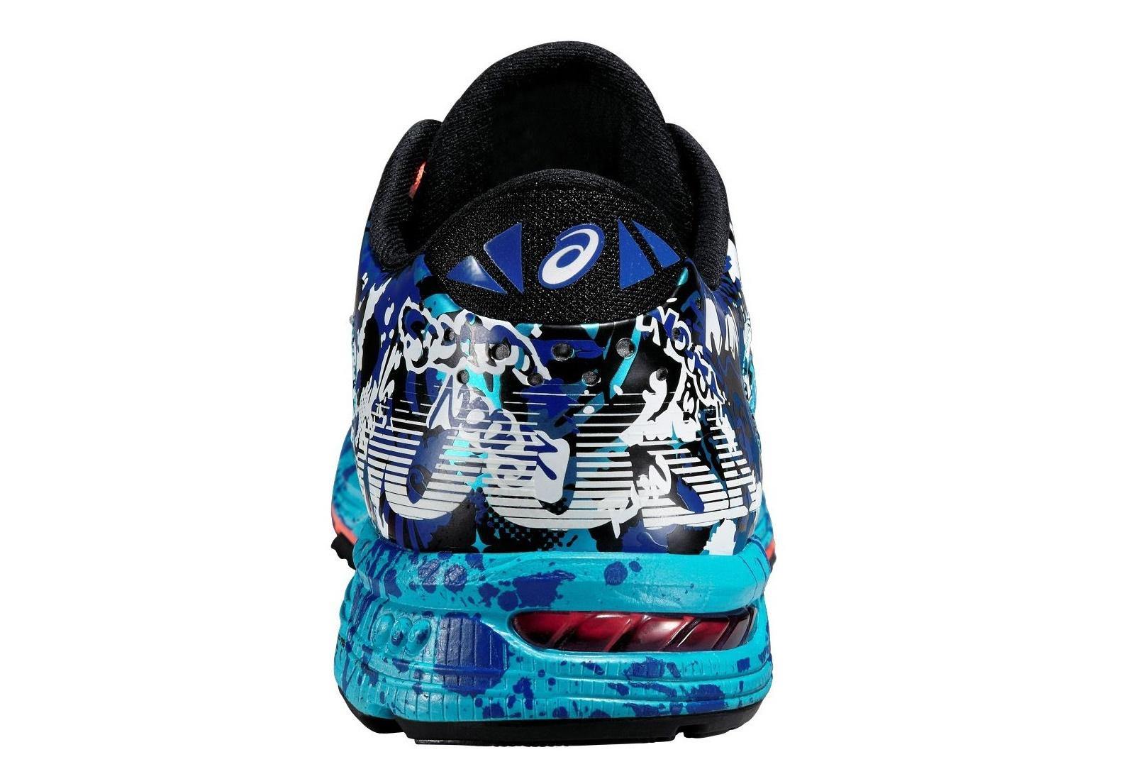 Мужские кроссовки для бега Asics Gel-Noosa Tri 11 (T626N 4006) голубые фото пятка
