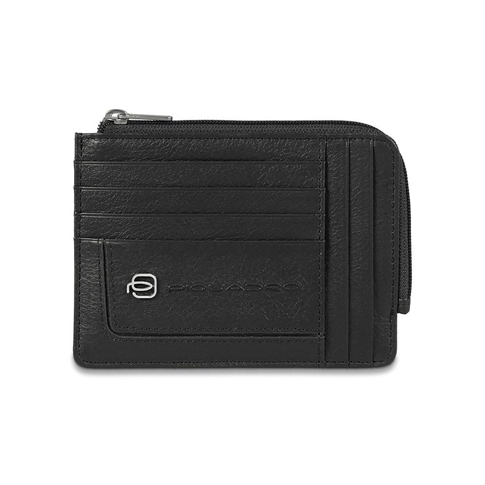 Чехол для кредитных карт Piquadro Vibe, цвет черный 12,5x9x1 см (PU1243VI/N)