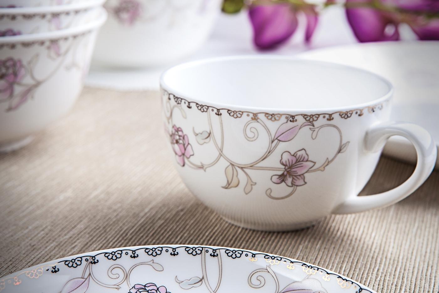 """Чайный сервиз Royal Aurel """"Нежность"""" арт.117, 13 предметов"""