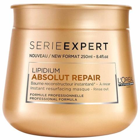 Маска для очень поврежденных волос,Loreal Absolut Repair Lipidium,250мл