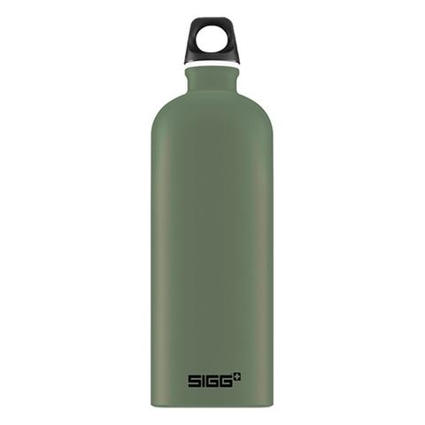 Бутылка Sigg Traveller (1 литр), зеленая