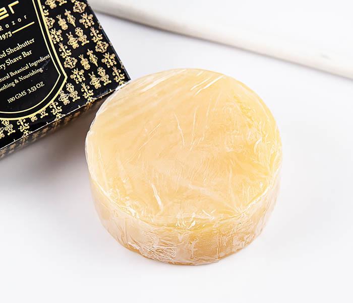 RAZ470 Сандаловое мыло для бритья PARKER с маслами (сменный блок, 100 гр) фото 03