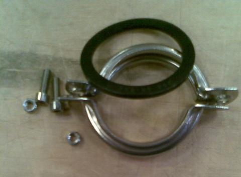 13246540 Муфта из стали соединительная для труб, диа.51 мм
