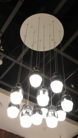 Replica of Axo Light Fedora SP 12  pendant lamp ( SILVER )