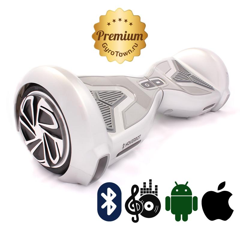 Hoverbot А15 Premium серебряный (приложение + Bluetooth-музыка + сумка) - Hoverbot, артикул: 616747