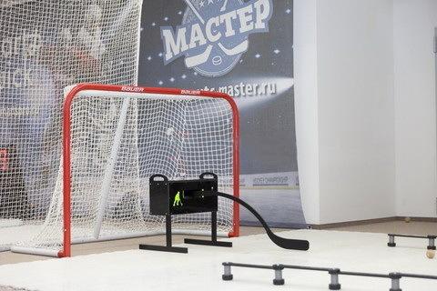 Тренажер хоккейный ИМИТАТОР ИГРОКА ЭМ