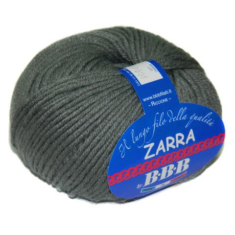 Пряжа BBB Filati Zarra 0303 серый