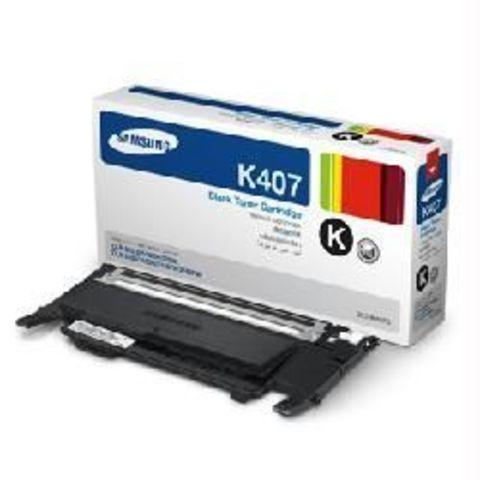 Картридж черный Samsung CLT-K407S для Samsung CLP-320, CLP-320n, CLP-325, CLX-3185, CLX-3185N, CLX-3185FN (Ресурс 1500 стр.)