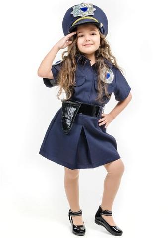 Костюм Полицейский для девочки 1