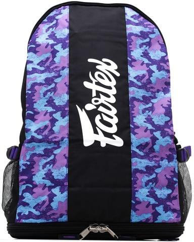 Рюкзак Fairtex Backpack BAG4 Purple Camo