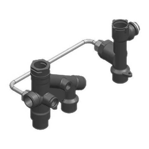 Комплект для переоборудования газового котла Viessmann Vitopend 100-W в одноконтурный