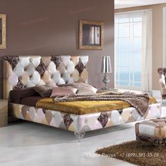 Кровать Dupen (Дюпен)   870 TIFFANY лоскутный микс