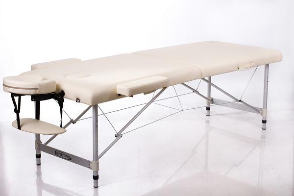 Массажный стол RESTPRO ALU 2 (L) Cream (EU) фото