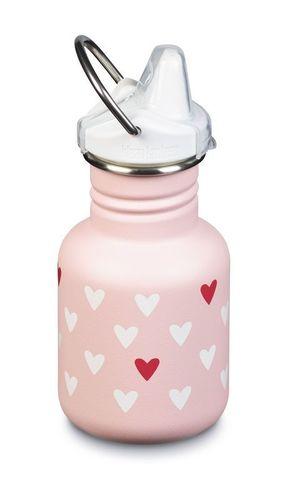 Детская бутылка Klean Kanteen Kid Classic Sport 12oz (355 мл) Millennial Hearts