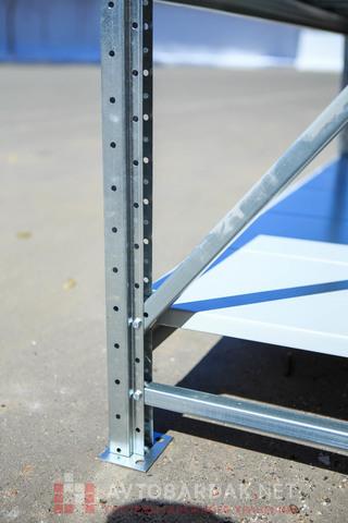 Секция продления стеллажа (глубина 700 мм, высота 1500 мм)