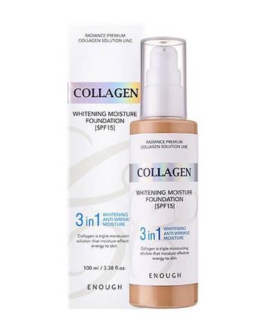ENOUGH Тональная основа с коллагеном 3 в 1 Enough 3in1 Collagen foundation 100мл