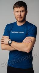 Футболка Nordski Logo Navy New 2020 мужская