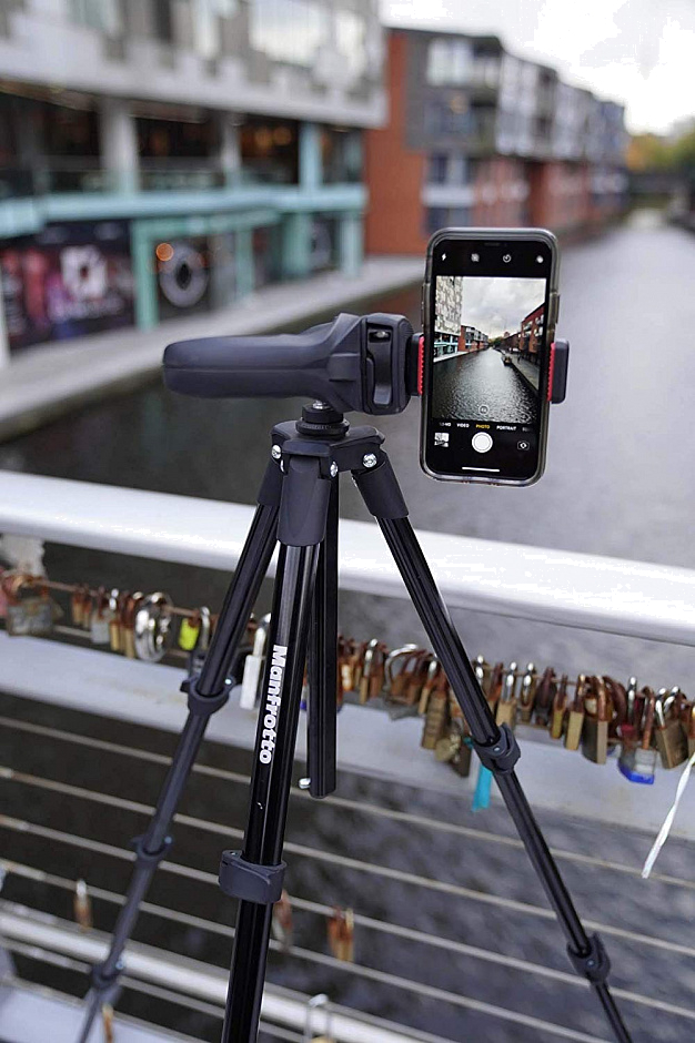 Manfrotto MKSCOMPACTACNBK Compact Action Smart