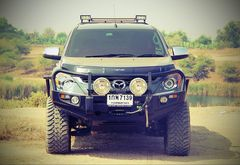 Бампер Delux Black Commercial MAZDA BT50с 2007г.в