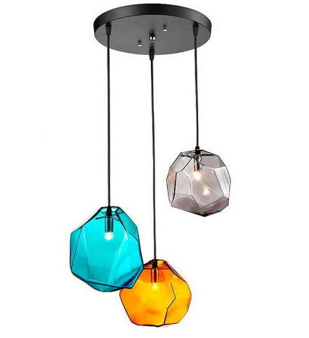 replica  Ice Cube Pendant Lamp ( 3 BULBS )