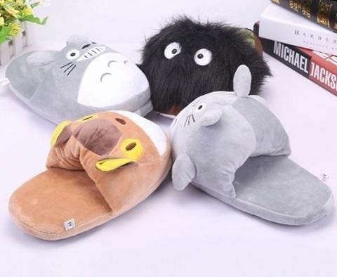 Slippers Plush Totoro