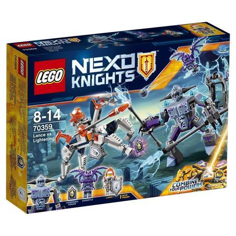 LEGO Nexo Knights: Ланс против Монстра-молнии 70359 — Lance vs. Lightning — Лего Нексо Рыцари