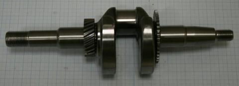 Коленвал DDE UP170 HONDA помпа  d.19 мм - резьба 3/4
