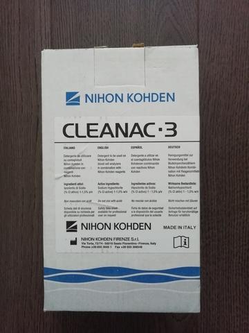 Очищающий реагент Клианак 3 (Cleanac-3 MEK-620 I), 1 л - Nihon Kohden Firenze S.r.l., Италия (арт.MEK-620I)