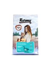 Корм для для взрослых кошек, Karmy Hypoallergenic, в возрасте старше 1 года, склонных к пищевой аллергии, с уткой