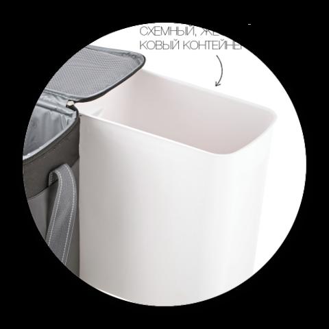 Сумка-термос Igloo Vertical HLC 12 с съемным контейнером