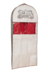чехол для костюма длинный 130х60х10, вечер в париже